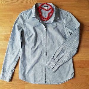 ☆ J.CREW ☆ Perfect Button Down Shirt Sz.4 (S)